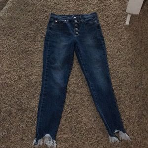 High wasted jeans